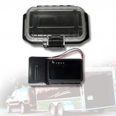 lokalizator gps pro + zewn. bateria dla 60-dniowej pracy + wodoodporny pojemnik