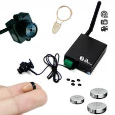 Mikrokamera gsm box z mikrosłuchawką na egzamin - KIT32V1
