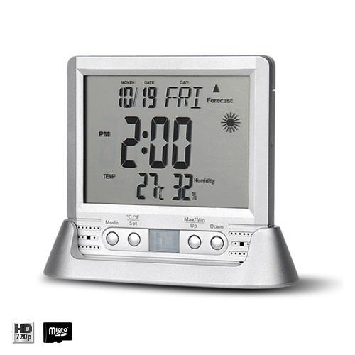 Ukryta kamera w termometr i zegar cyfrowy – ukryte kamery DVR - Sklep kameryszpiegowskie.com