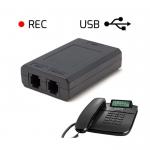 Rejestrator połączeń telefonicznych - Dyktafon REC/USB Pro