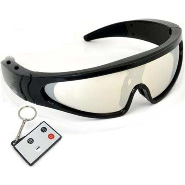 Mikro rejestrator kamera szpiegowska ukryta w okularach sportowych z jakości HD - Sklep minikamery.net