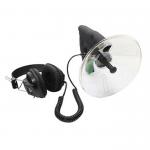 Mikrofon kierunkowy -  Posłuchaj odległość - Paraboliczny PRO - r2x1v