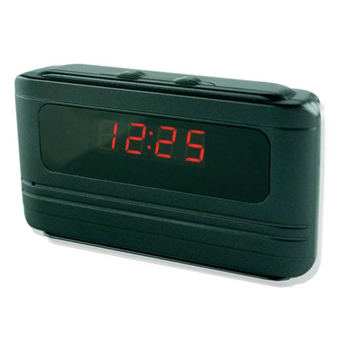 Mikrokamera zakamuflowana w budziku – ukryta w budziku – Kolor Czarny - Sklep kameryszpiegowskie.com