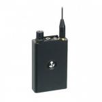 Profesjonalny odbiornik bezprzewodowego UHF - Mini/trochę - 3 kanały (abc) - 300 metrów