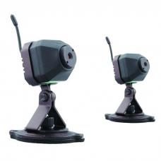 Zestaw 2 Mini kamera z odbiornikiem 2,4Gz