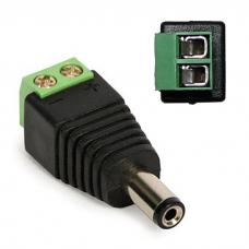 Gotowy wtyk zasilania do kamer z kostką połączeniową – Adaptery i złącza