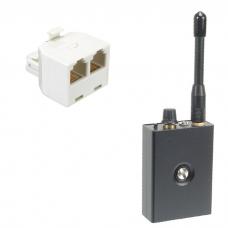Odbiornik bezprzewodowego 2 kanały (AB) i Mikrofon (MT-600) UHF - UHF-K01-2