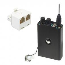 Odbiornik bezprzewodowego 6 kanały (ABCDEP) i Mikrofon (MT-600) UHF - UHF-K04-2