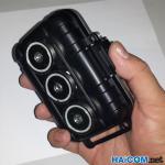 Obudowa hermetyczna z magnesami neodymowymi - 3 magnesy - BOX01M3