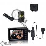 Paczka DVR FULL HD Profesjonalny - 1080P HD - Przycisk Aparatu 501HD - Bateria 2200mAh BA-2200 - PVD5000-L5