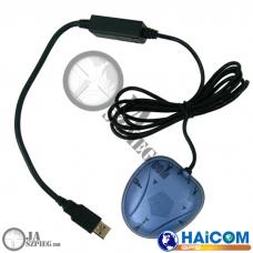 Antena GPS zewnętrzna do urządzeń do śledzenia satelitarnego - Odbiornik GPS USB - GPS USB external antenna – HI-204III USB – HAICOM