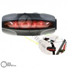 Lokalizator GPS do roweru ukryty w lampie - Rower GPS - CPGPS002