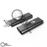Dyktafon miniaturowy rejestrator 15 godzinnym nagrywaniem ciągłym - 8 GB pamięci - wieloportowej z PC i Smartphone - ESMUY - RecUR26